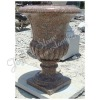Red Stone Flower Pots And Urns