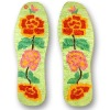 shoes insoles with vivid embroidery