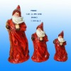 ceramic santa claus for christmas