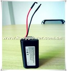 1s3p keeppower lithium 8700mah 8.7ah 3.6v rechargeable battery pack