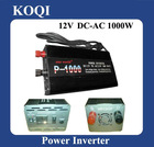 Modified sine wave 12V/24V -220V/110V Power Inverter 1000w with Battery Charger Function (P-1000C)