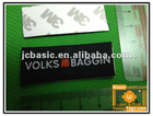 Custom self adhesive woven clothing labels