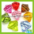mixed color transparent acrylic beads for jewelry