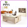 modern executive glass-top desk for sales NS-002