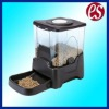 Plastic automatic pet feeder for cats and dogs