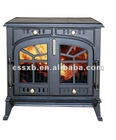 cast iron wood burning stove