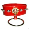 Neck Collar with Metal Circle