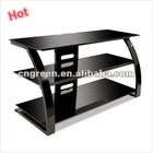 New design black high gloss lacquer TV stand