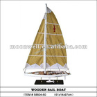 America3 Sailing Boat replica,Wooden Sailboat Model,Souvenir,Clipper Model,Nautical Gifts Decoration ornament