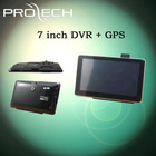 7 inch GPS car black box camera DVR GPS recorder