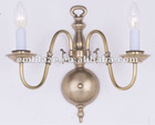 Best sale die cast brass candle wall lamps for morrocan,turkish BD21B