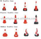 PE/PLASTIC /Rubber reflectiveTraffic road cone