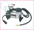 PORTABLE MINI METAL AIR COMPRESSOR KIT AUTO WATER PROOF GREAT FOR CAR SUV VAN