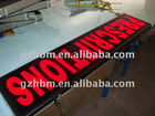 Outdoor LED signage/Flashing Open Sign/3d illuminate signs