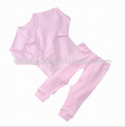 100% cotton infant underwear green earth textile