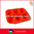 2013 Hot selling new design colorful silicone rubber egg mould