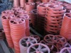 ductile iron casting parts machined as per drawing or sample