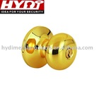 2011 brass knob cylindrical lock