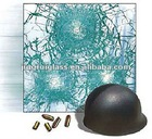 8+0.76+8+0.76+8mm bullet proof glass with ISO9001:2000 and CCC