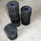 High quality black nylon gear parts