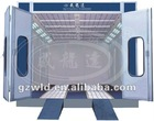 WLD8200 Standard Type car spray booth,popular model with CE