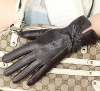 Genuine Leather,Unique Style,Fashion Ladies Leather Gloves