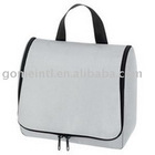 Travelling Toilet Bag In Silver