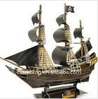 Stereo puzzles/paper model-Pirates of the Caribbean Black Pearl