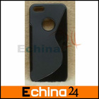 New Black TPU Cover Case for iPhone 5 New iPhone Accept Small Order and Paypal