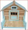 fire-proof wood panel dog house