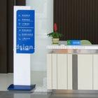 aluminum brochure stand