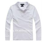 2011 Fashional Cotton women long sleeve polo Shirt