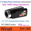 "Winait's 16MP digital Video Camera With 2.7"" TFT Screen display"