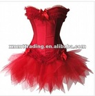 red corset top prom dresses with tutu hot sale