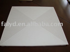 Perforated aluminum sheet for ceiling