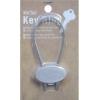 Metal Key Ring Oval
