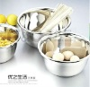 stainless steel mixing bowl with lid,cookware utensils,noodle bowl