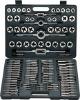 110pc alloy steel mertic or sae tap and die set in tool