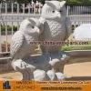 Stone granite statue