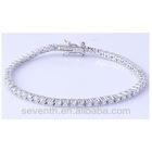 tennis bracelet settings diamond silver spiral bracelet 925 silver tennis bracelet