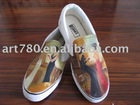 Canvas shoes (Leisure shoes,Hand painted shoes)