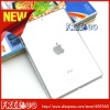 Lowest price crystal transparent pc back case for new ipad mini