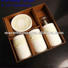 4pcs ceramic bathroom accessories