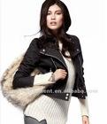 2013 new style fashion women leather jacket