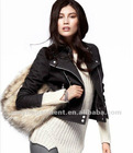 2013 new style fashion women leather jacket