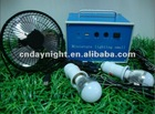 Come with DC bulb and USB charger Portable mini solar lighting system DN1306