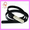 Sparkly rhinestone fashion cheap dressy belts for dresses
