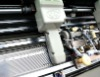 AUTOMATIC WIDENING FLAT KNITTING MACHINE FRAME