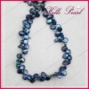 baroque blue freshwater pearls(HELLO PEARL L0113)