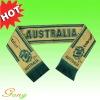 Jacquard acrylic Football fan scarves